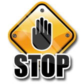 Stop! sign