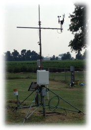 Fisher Delta Research Center Weather Station